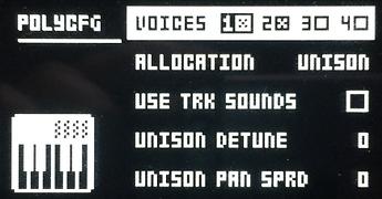 Unison 2 voices