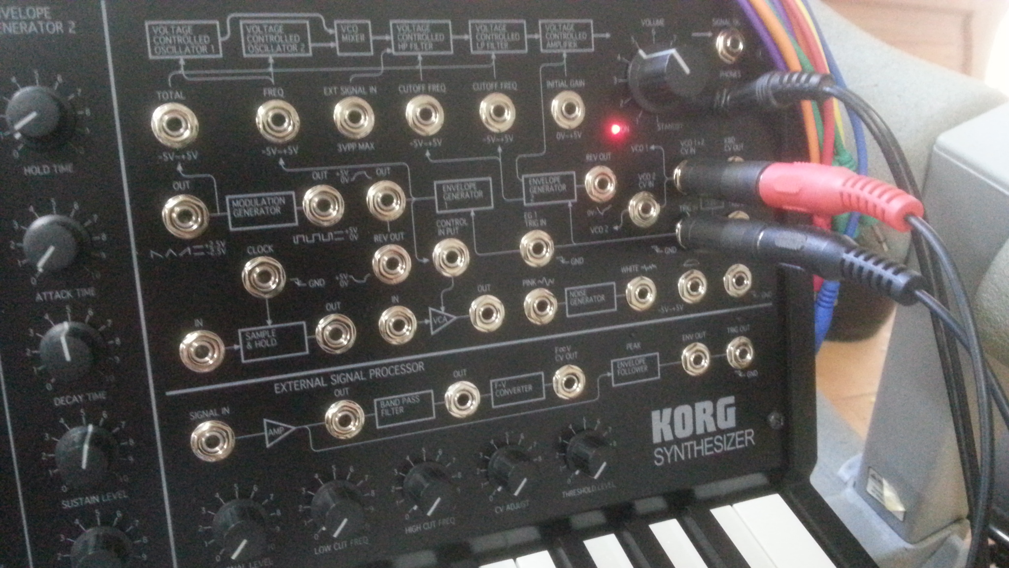 how to cv control minitaur  - analog keys  four