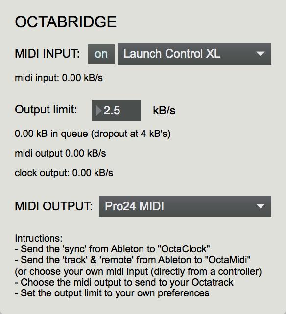 Octatrack and Ableton Live - Octatrack - Elektronauts