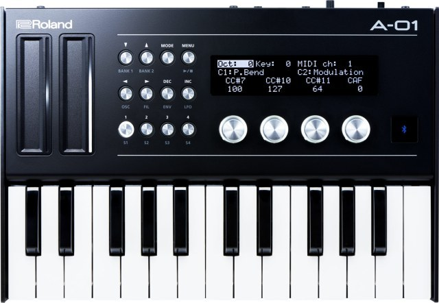 Namm 2016 Roland A-01 8-Bit Synthesizer & MIDI Controller - Other