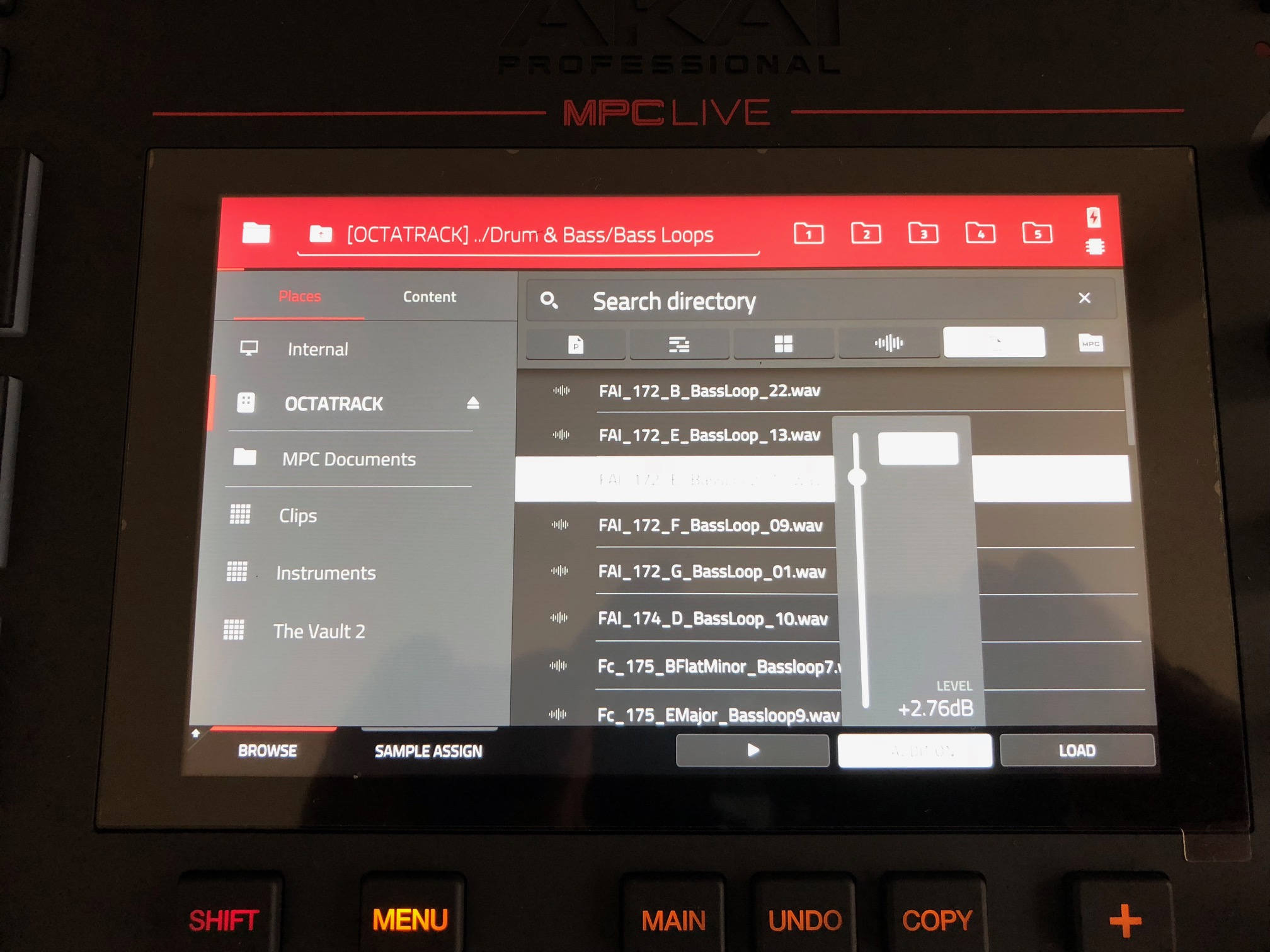 Mpc Touch Tips