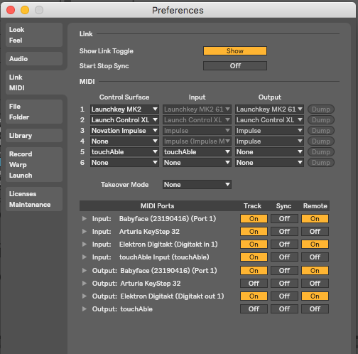 Default Usb Configuration Midi
