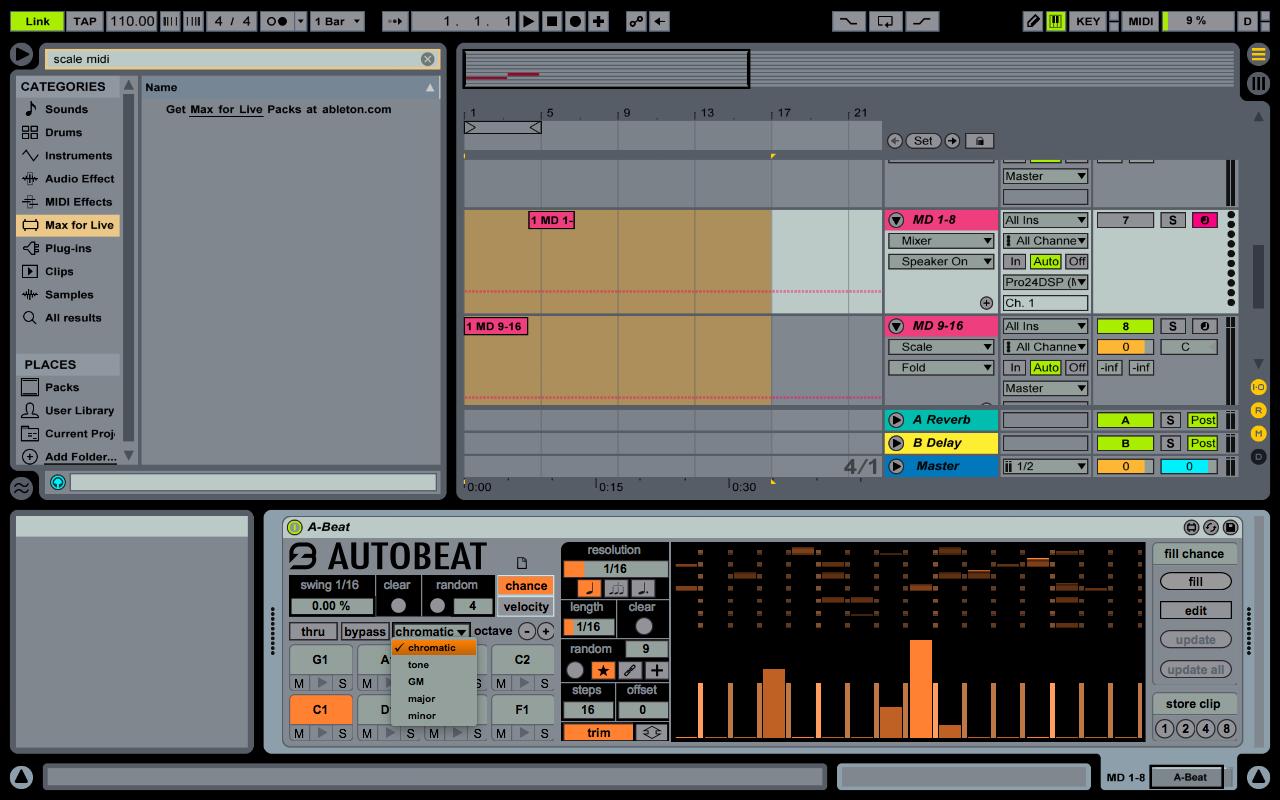 Problem triggering Digitakt 1-8 tracks from Ableton