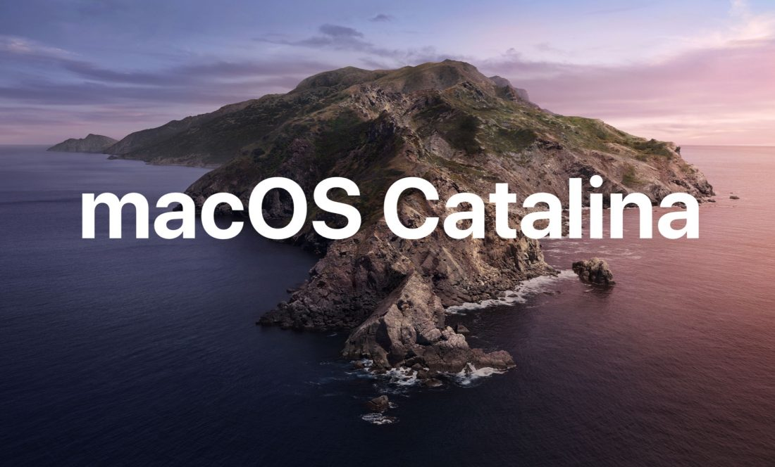 MacOS Mojave to Catalina warning - General Discussion