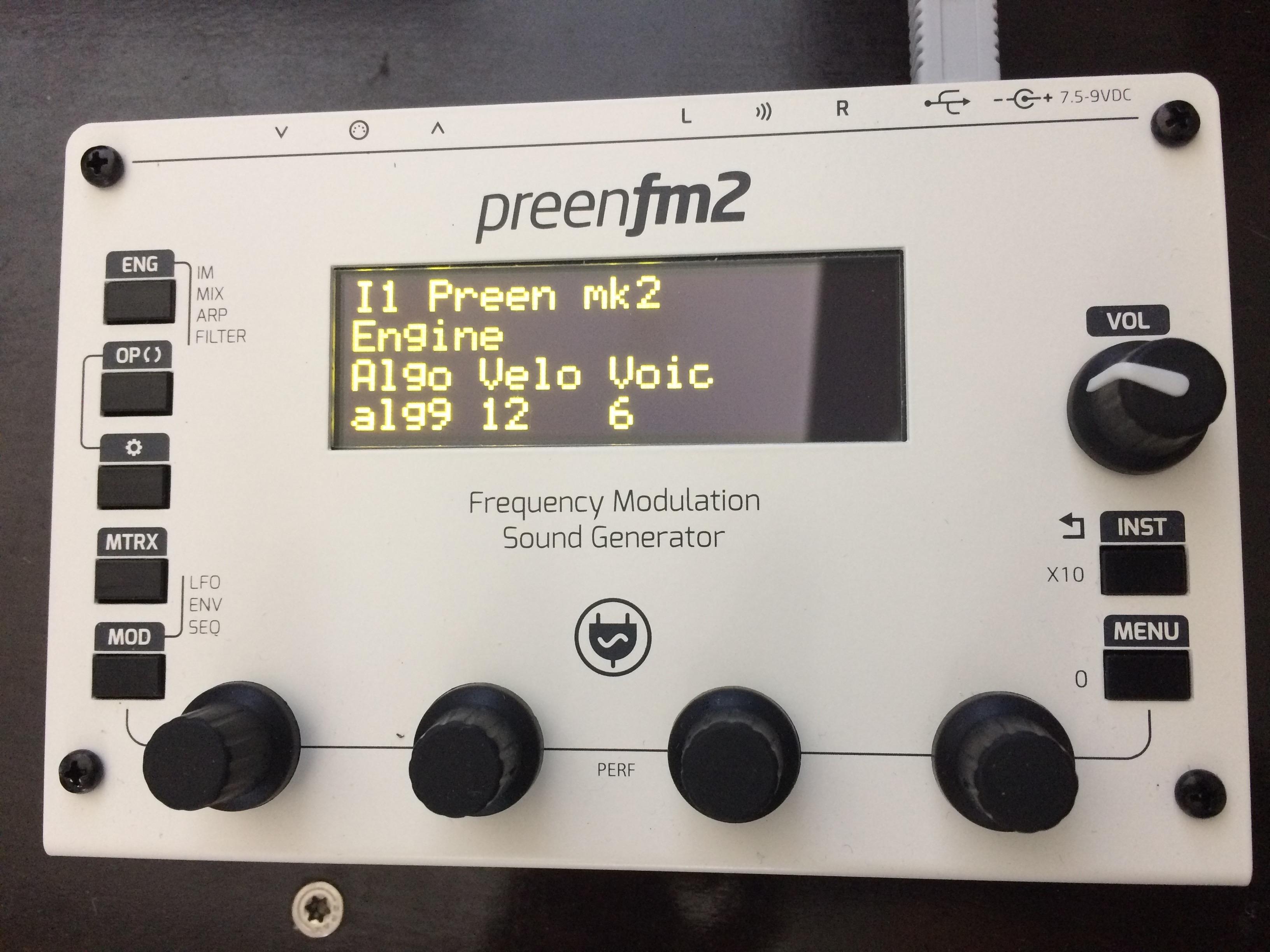 SOLD- Please Close FS(EU): PreenFM2(Sold), Kordbot (sold) , Sonic ...