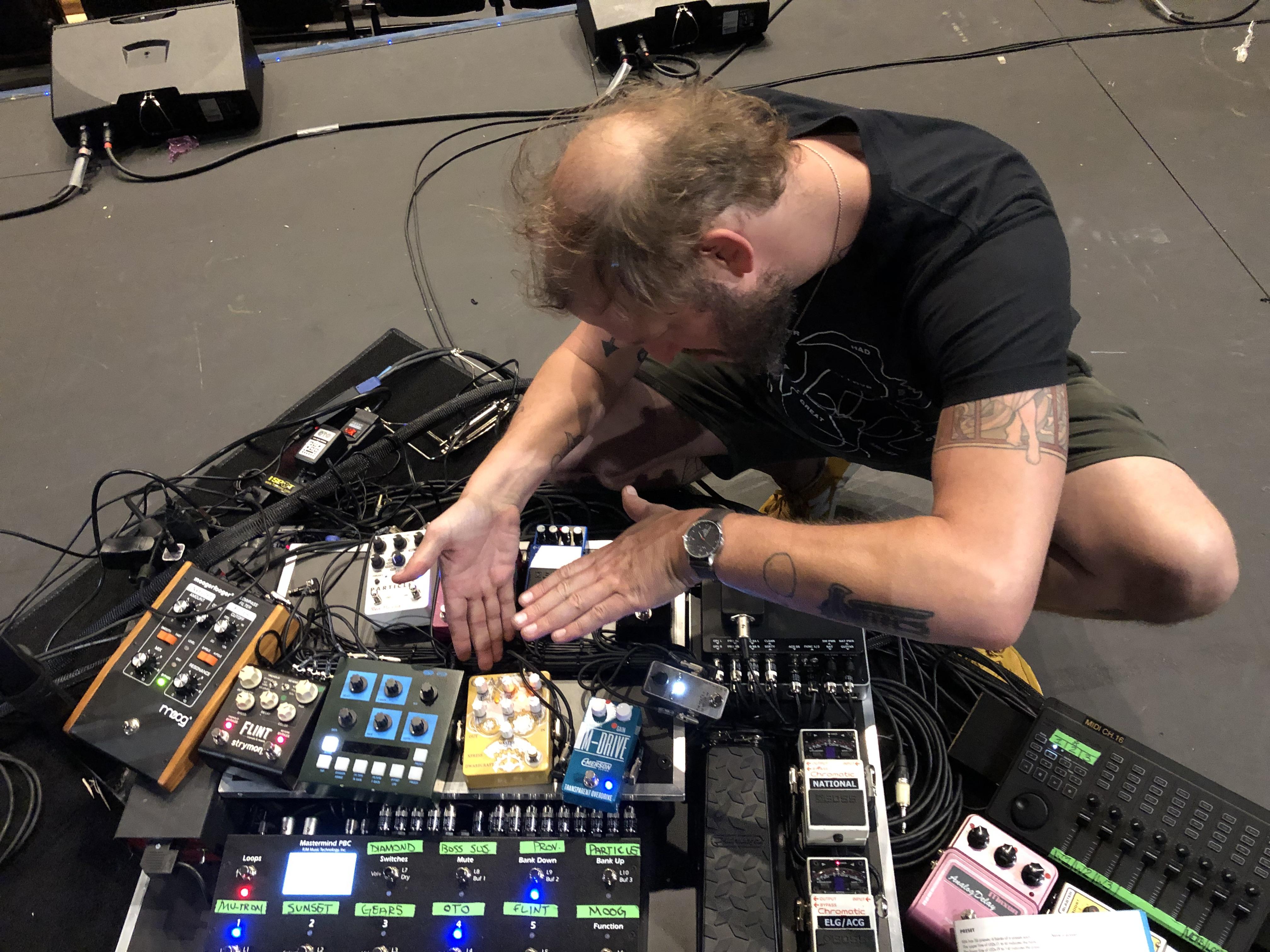 swung through bon iver rehearsals yesterday other gear elektronauts