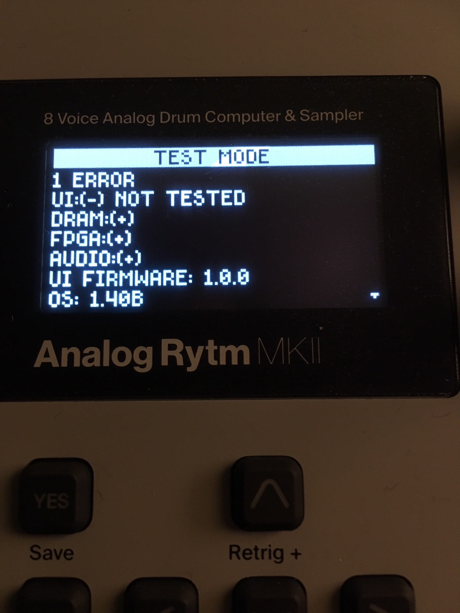 Analog Rytm MKII don't BOOT or Start ?!? Need Your Support - Analog