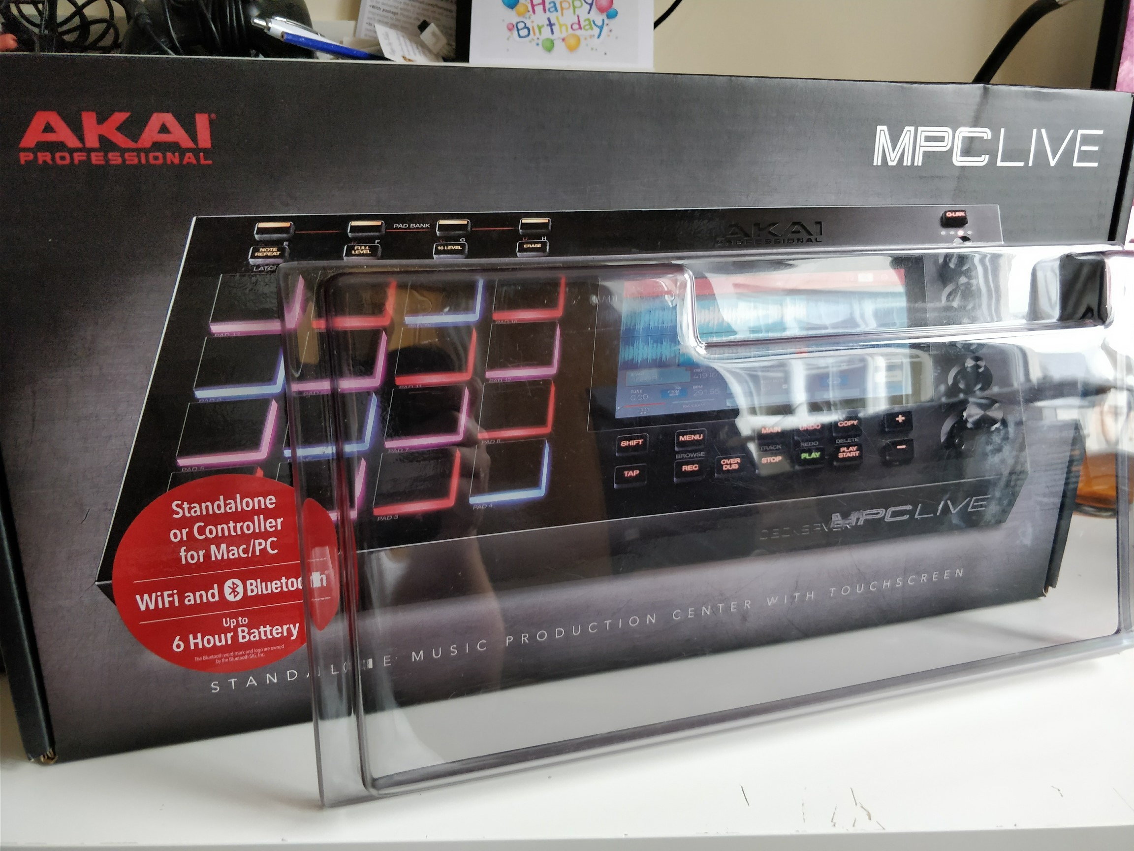 FS - MPC Live with decksaver £769 - Marketplace - Sell
