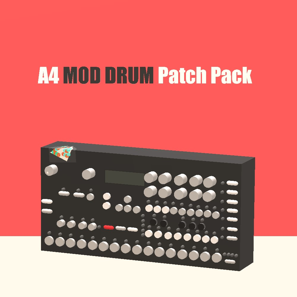 A4 MOD Drum Patch Pack - Analog Keys/Four - Elektronauts