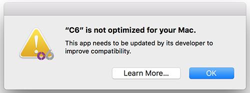 C6 64bit update? [apple dropping 32bit support] - Elektron