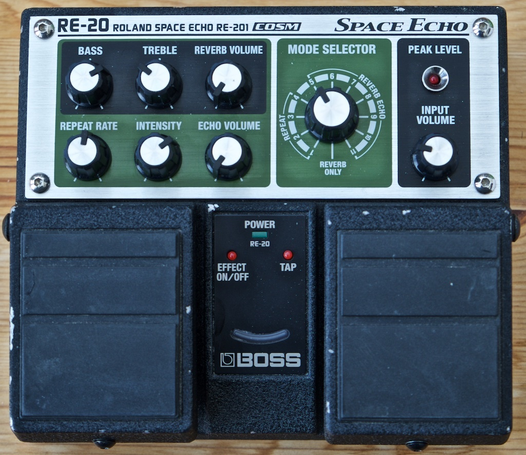 ***SOLD!*** Boss RE-20 Space Echo / Delay / Reverb ...
